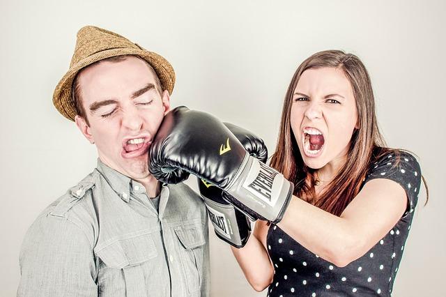 box žena a muž