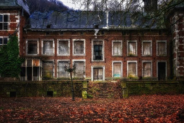 Opuštěná vila